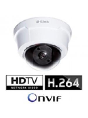 DCS-6112 D-Link Camera de Video IP Domo Fixa, Full HD 1920x1080, Zoom Digital 16x, PoE