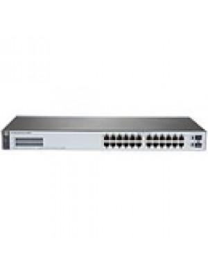 J9980A HPE Switch 1820-24G com 24x 10/100/1000Mbps RJ45 +2x portas 1G SFP