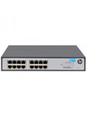 JH016A HPE Switch 1420-16G com 16 portas 10/100/1000Mbps RJ45
