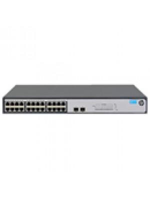 JH017A HPE Switch 1420-24G-2SFP com 24 Portas 10/100/1000Mbps RJ45 + 2x portas 1G SFP