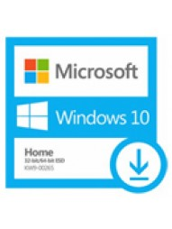 KW9-00265 Microsoft Windows 10 Home 32/64 bits (All languages) - licenca 1 usuario (Download)
