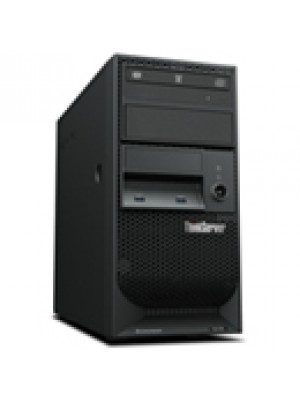 70LVA009BR Lenovo Servidor Torre ThinkServer TS150 Intel Xeon E3-1225v5 QC 3.3GHz (1x Proc.), 8GB RAM, 1TB HD, DVD-RW, 1x Fonte 25W, com WS 2012 Foundation ROK