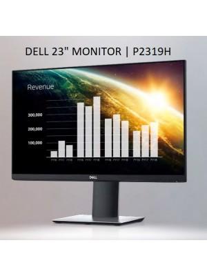"""P2319H Dell Monitor 23"""" P2319H Widescreen (1920x1080), com ajuste de Altura e Pivot, VESA (VGA, HDMI, DP)"""